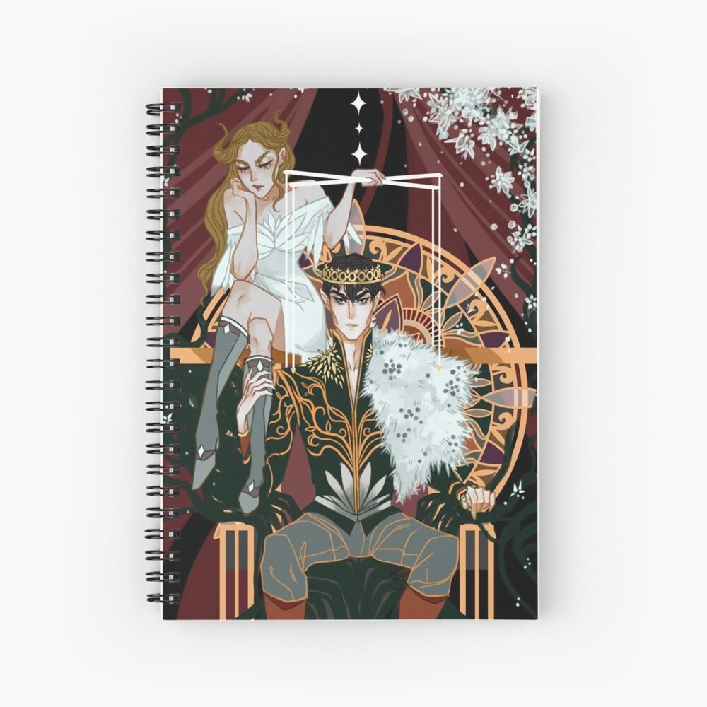 Royal Puppeteer Spiral Notebook