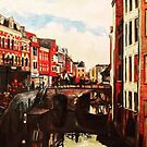 The Oudegracht in March by Cameron Hampton