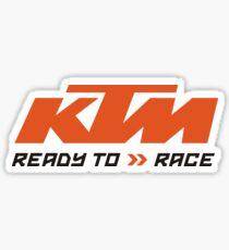 KTM ready to race merchands Sticker