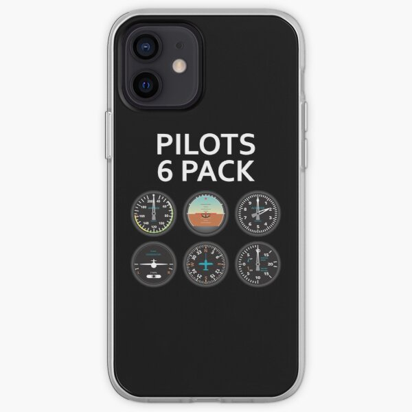 Pilots Six Pack. iPhone Soft Case