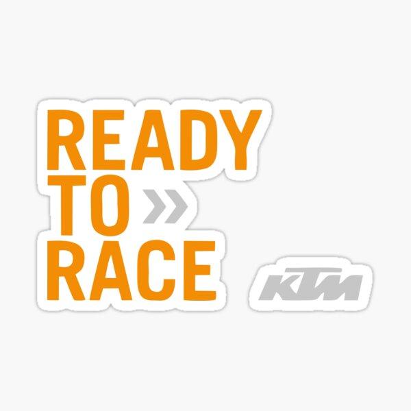 Prêt pour la course KTM Racing Sticker
