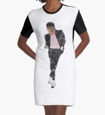 e09de699 Michael Jackson Billie Jean watercolour Graphic T-Shirt Dress