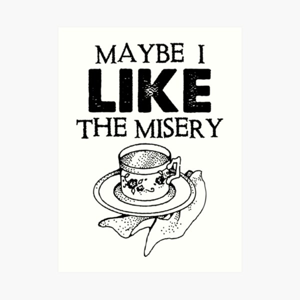 Father Ted - Maybe I Like The Misery Art Print