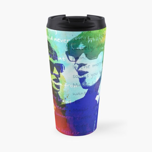 Noel and Liam Gallagher (Oasis) Travel Mug