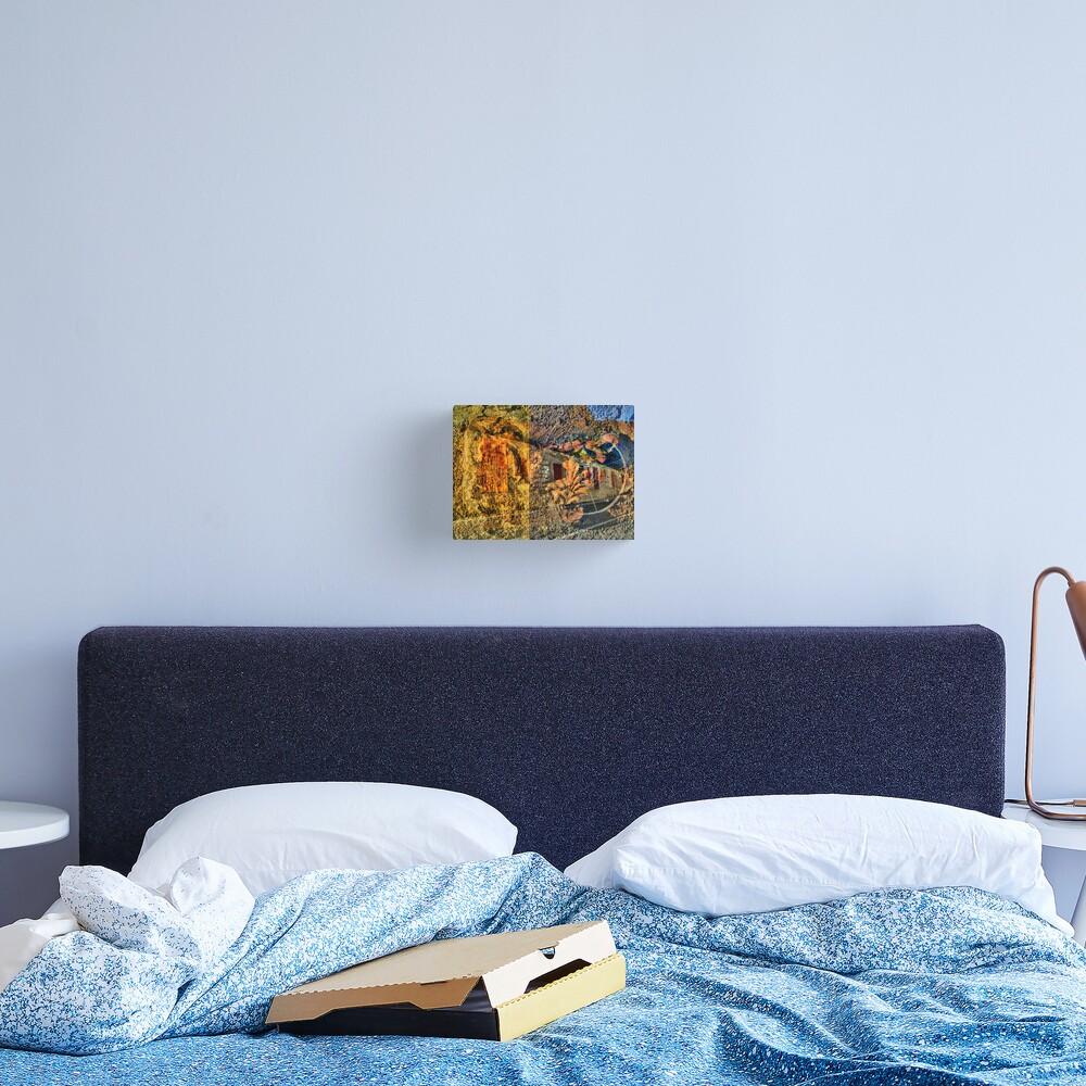 Il muro della vita Canvas Print