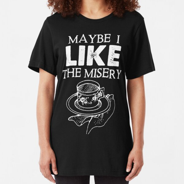Father Ted - Maybe I Like The Misery (for dark prints) Slim Fit T-Shirt