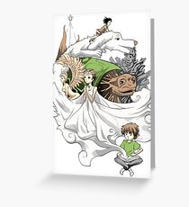 The Neverending Story - Montage  Greeting Card