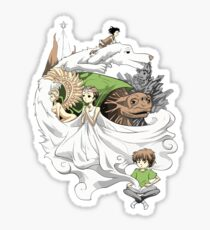 The Neverending Story - Montage  Sticker