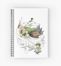 The Neverending Story - Montage  Spiral Notebook