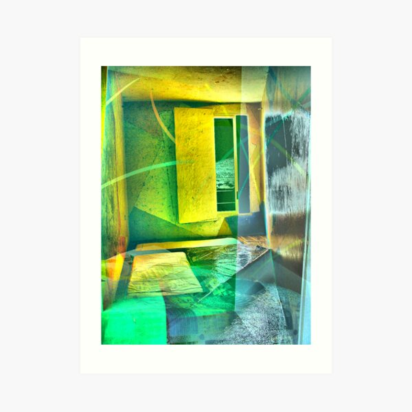 la stanza della pittura Art Print