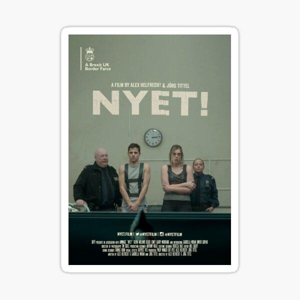 NYET!  Sticker