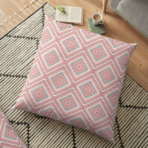 traditional embroidery Floor Pillow