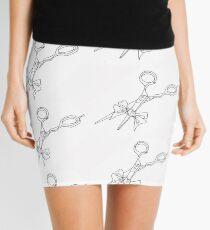 Shears White Mini Skirt