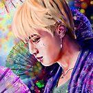 « Kim Seokjin BTS Seollal Fanart » par Niji-Ninjart