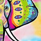 Der gemalte Elefant von artbycaseylh