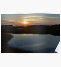 Cedar Key Sunset Poster