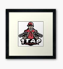 1Tap Esports Mascot Framed Print
