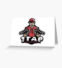 1Tap Esports Mascot Greeting Card