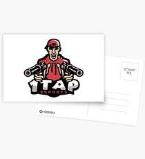 1Tap Esports Mascot Postcards