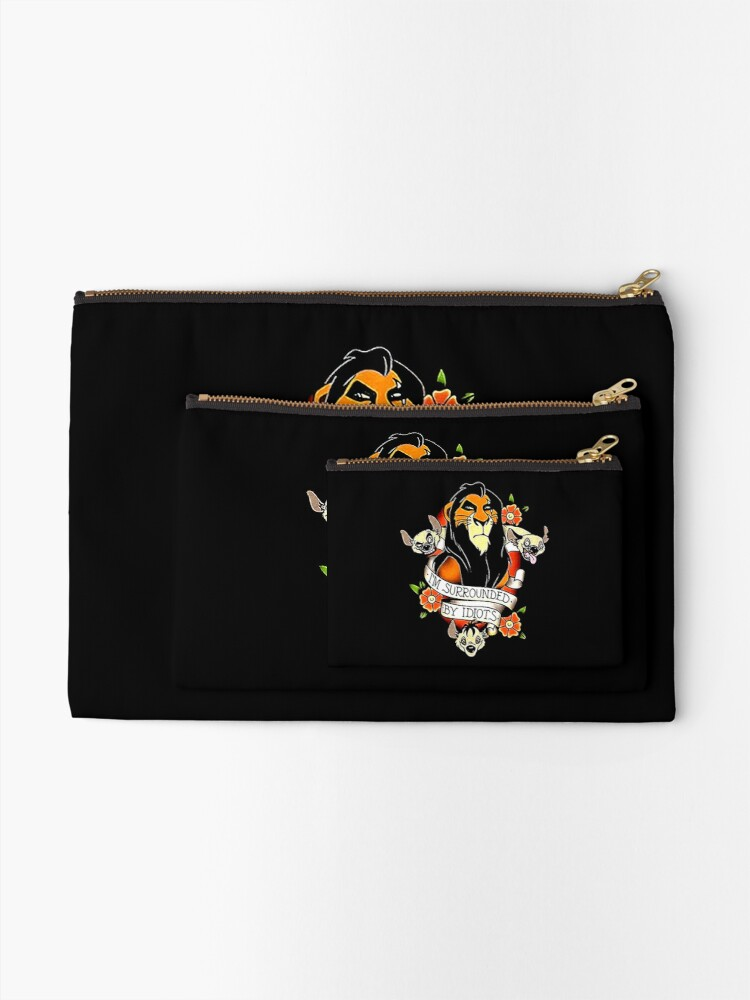 Alternate view of King Scar Surrounded Zipper Pouch