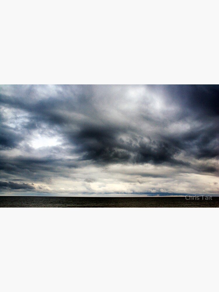 Berwick Upon Tweed Stormy Sky Seascape by christait