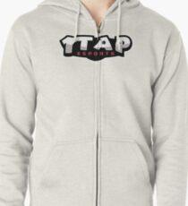1Tap Esports Logo Zipped Hoodie