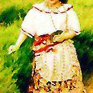 Gypsy girl by Madalena Lobao-Tello