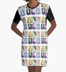 SIX the Musical: Old School Queens Graphic T-Shirt Dress