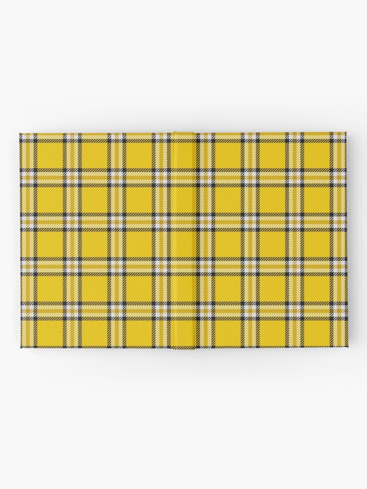 Alternate view of Cher's Tartan Dress from Clueless, variation 2 Hardcover Journal