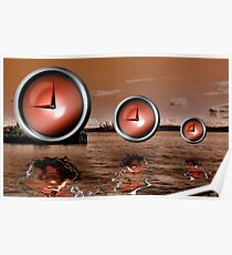 Time All But Means Nothing Poster