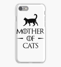 Mother of Cats iPhone Case/Skin