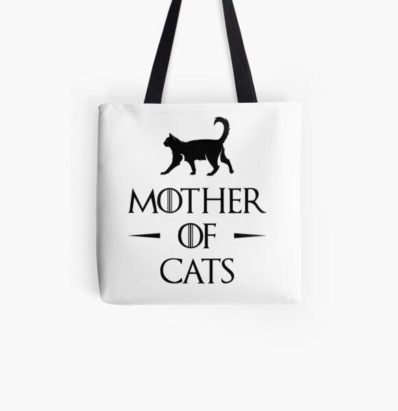 Mother of Cats All Over Print Tote Bag