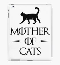 Mother of Cats iPad Case/Skin