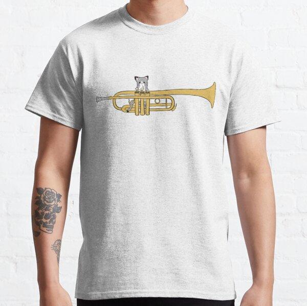 Trumpet Cat Classic T-Shirt