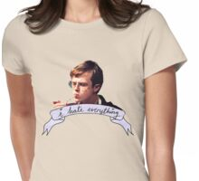 Dane DeHaan - I hate everything Womens Fitted T-Shirt