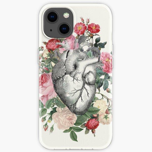 Rosen für ihr Herz iPhone Flexible Hülle