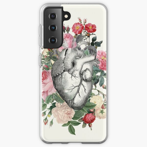Roses for her Heart Samsung Galaxy Soft Case