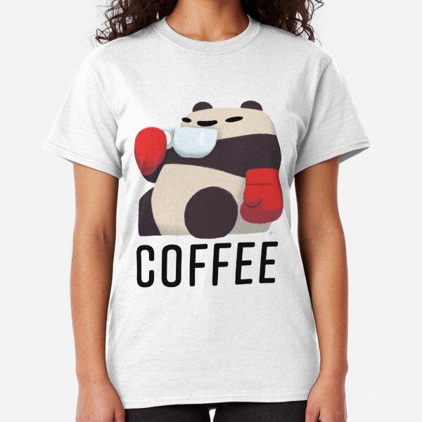 Panda Enjoying Cup of Joe Classic T-Shirt