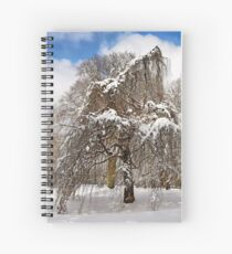 In my Winter Clothing Spiral Notebook
