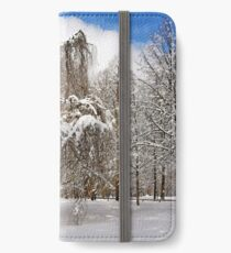 In my Winter Clothing iPhone Wallet/Case/Skin