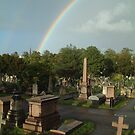 Over The Cemetery by Dave Godden