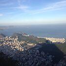 Cristo's view of Rio by omhafez