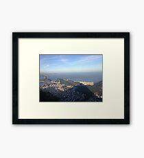 Cristo's view of Rio Framed Print