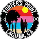 Surf Laguna California Surfer's Point Beach Ocean Surfing by MyHandmadeSigns