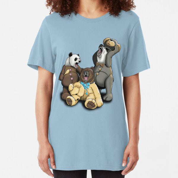 The Three Angry Bears Slim Fit T-Shirt