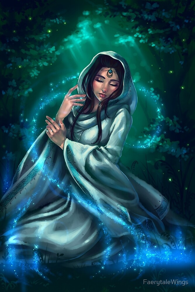 Priestess of Light by FaerytaleWings
