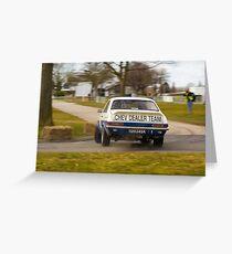 Chevrolet Firenza Greeting Card