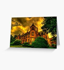 Castles of Brookline, Ma  - I Greeting Card