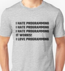 I Love Programming Unisex T-Shirt