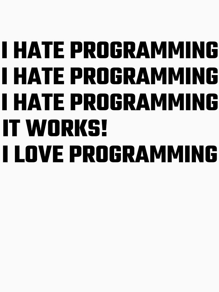 Amo la programación de evahhamilton